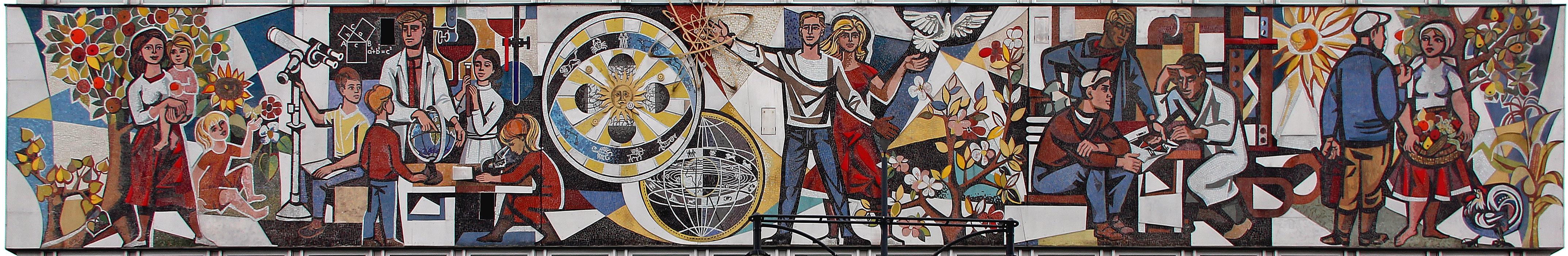 Mosaik_Alexanderstr_9_(Mitte)_Unser_Leben&Walter_Womacka&19642